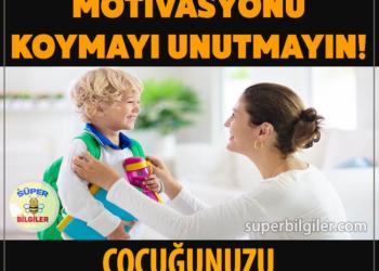 Çocuğunuzu motive etmenin 5 yolu!