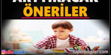 Çocuğunuzun dikkatini arttıracak öneriler