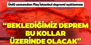Son Dakika: Ünlü uzman, İstanbul depreminin beklendiği yeri açıkladı! 2