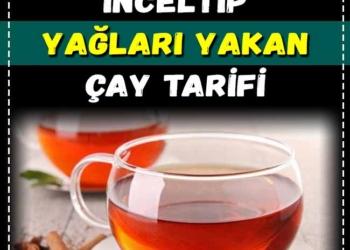 Belinizi 5 cm İnceltip Yağları Yakan Çay Tarifi 2
