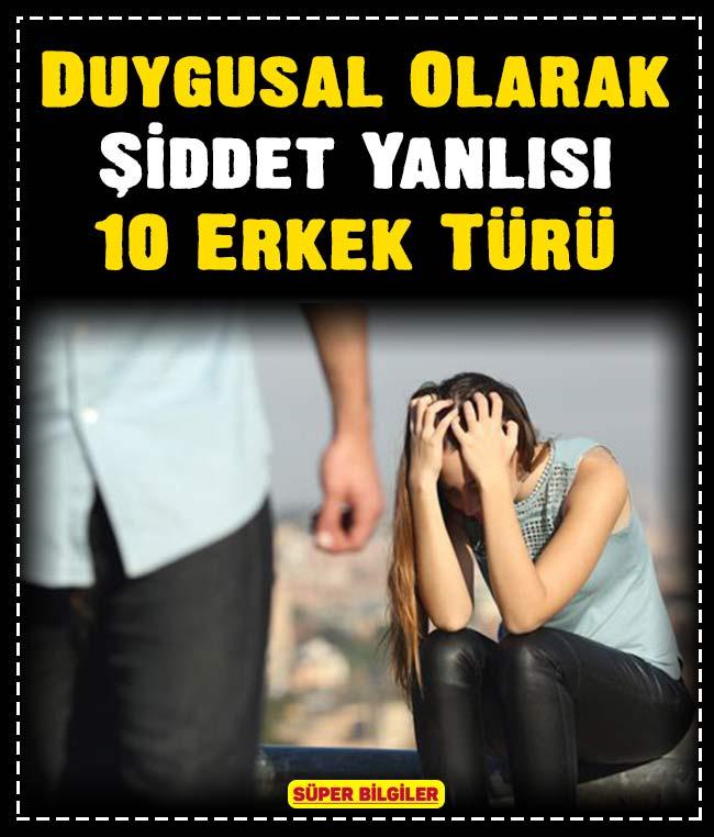 Duygusal Olarak Şiddet Yanlısı 10 Erkek Türü 2
