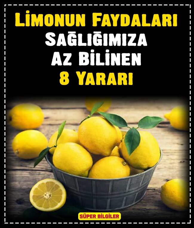 Limonun Faydaları: Sağlığımıza Az Bilinen 8 Yararı 4