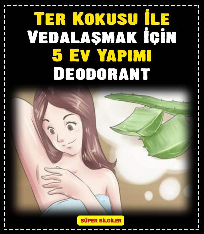 Ter Kokusu İle Vedalaşmak İçin 5 Ev Yapımı Deodorant 3