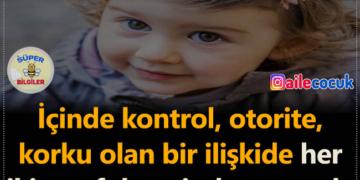 Çocuklar otoriteden değil, ilişkiden öğrenir...