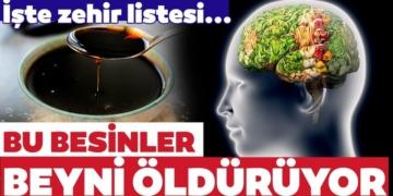 Bu besinler beyni bitiriyor! İşte beyin sağlığını etkileyen besinler listesi... 3