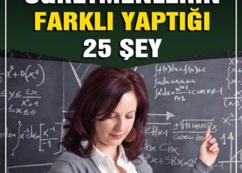 Başarılı Öğretmenlerin Farklı Yaptığı 25 Şey 2