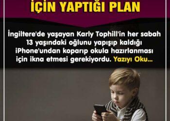 Bir Annenin Oğlunu Telefondan Ayırmak İçin Yaptığı Dahiyane Plan