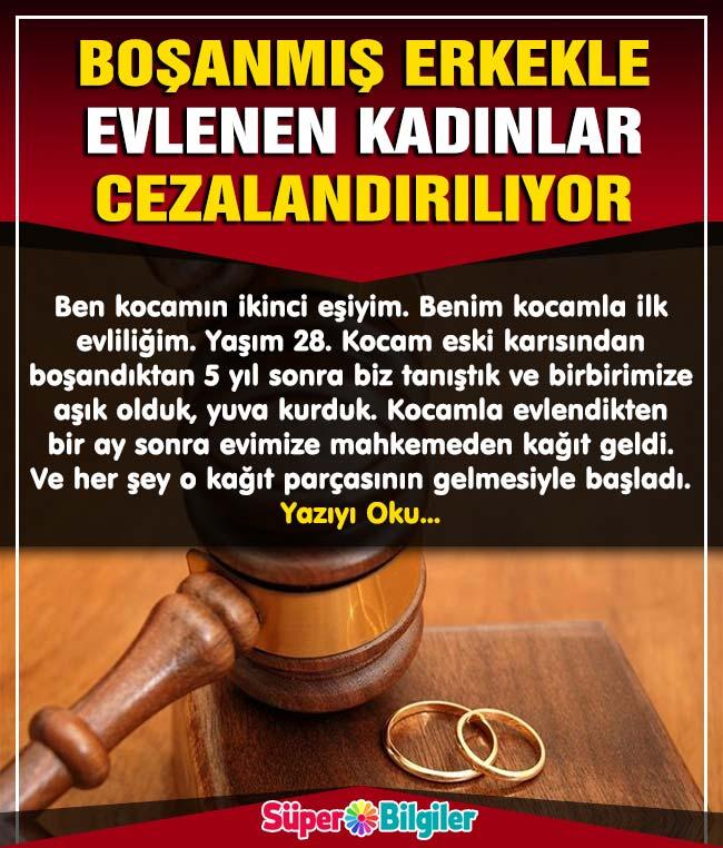 Boşanmış Erkeklerle Evlenen Kadınlar Cezalandırılıyor 2