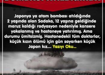 Japonya`da atom bombası atıldığında 2