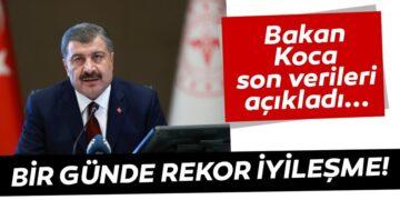 Son Dakika Haberi: Sağlık Bakanı Fahrettin Koca coronavirüste son vaka ve vefat sayısını açıkladı 2