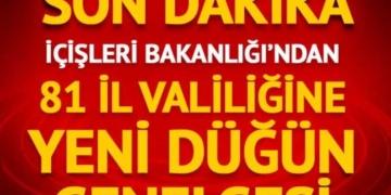 Düğünlerle ilgili kısıtlamalar Türkiye genelinde uygulanacak