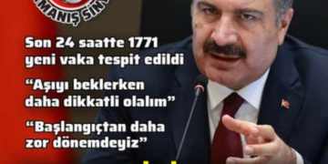 Sağlık Bakanı Fahrettin Koca'dan koronavirüs salgınına ilişkin önemli açıklamalar