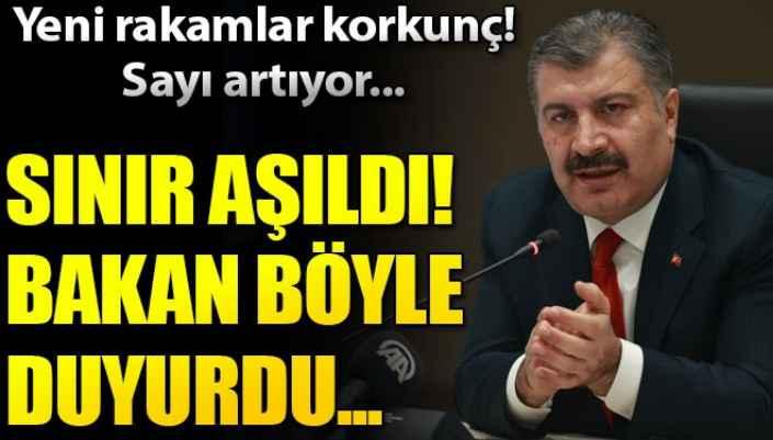 30 Kasım Türkiye koronavirüs tablosu! Bakan Koca son durumu açıkladı