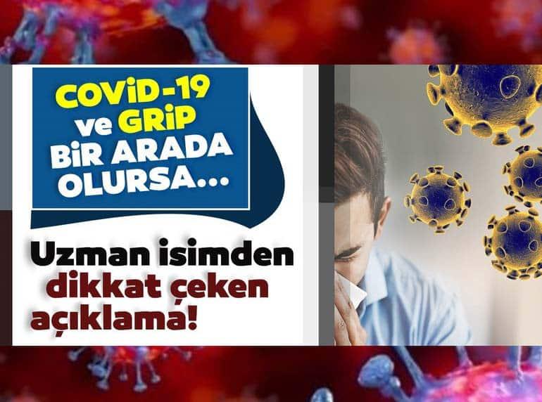 Koronavirüs Grip Ile Bir Arada Olursa... Uzman Isimden Dikkat çeken Açıklama!