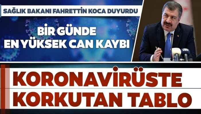 7 Aralık Türkiye koronavirüs tablosu! Bakan Koca son durumu açıkladı 2